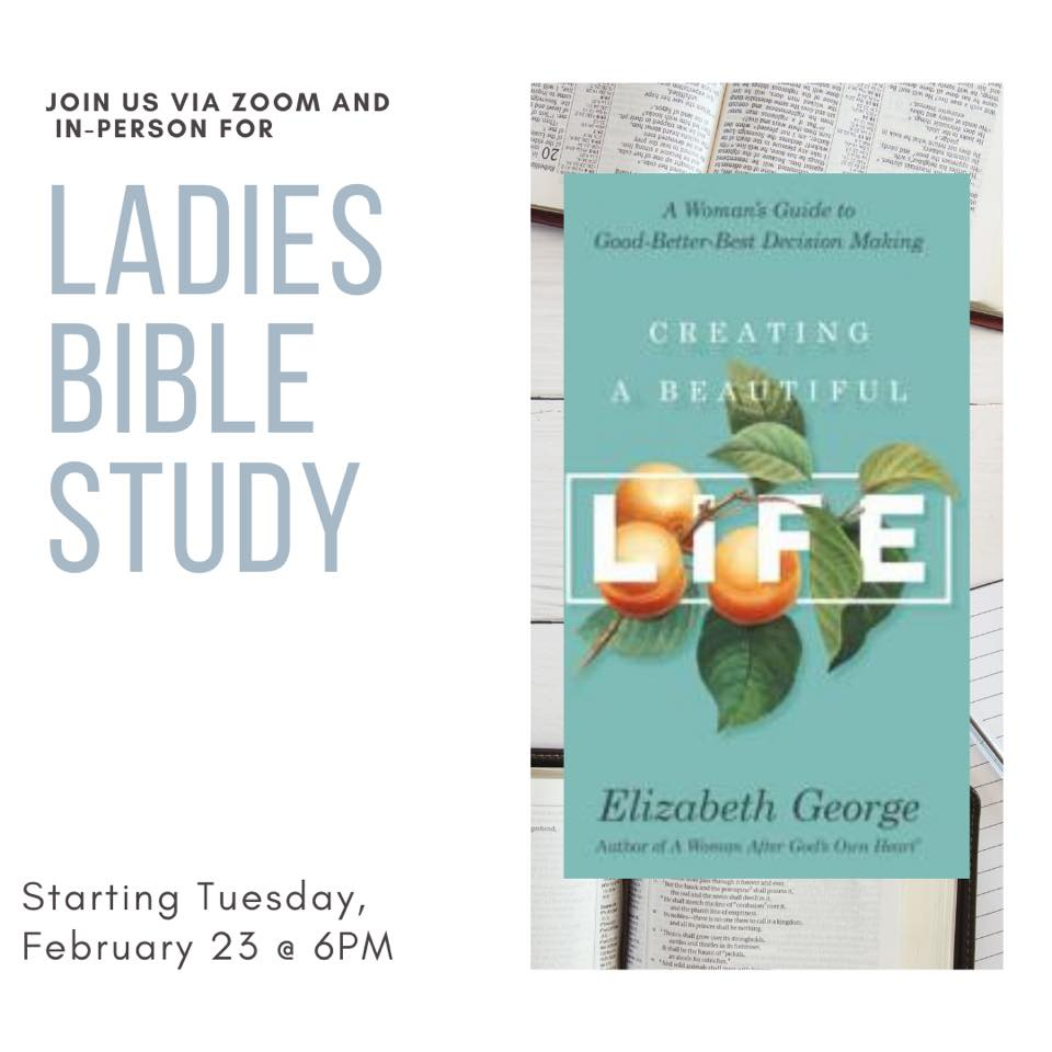 Ladies Bible Study is Back!